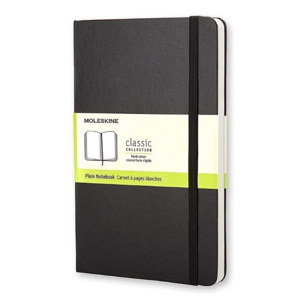Moleskine plain notebook black