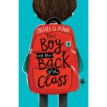 the boy the back of the class