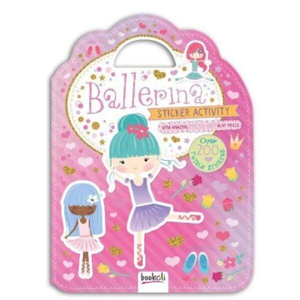 Ballerina sticker activity