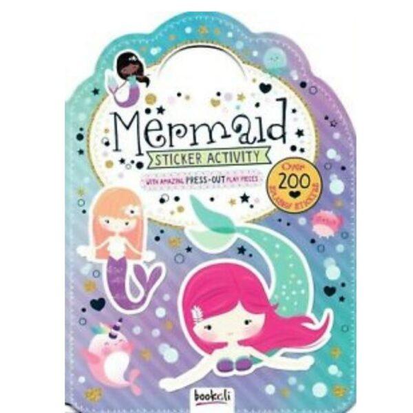 mermaid sticker activity