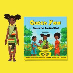 queen yaa saves the golden stool