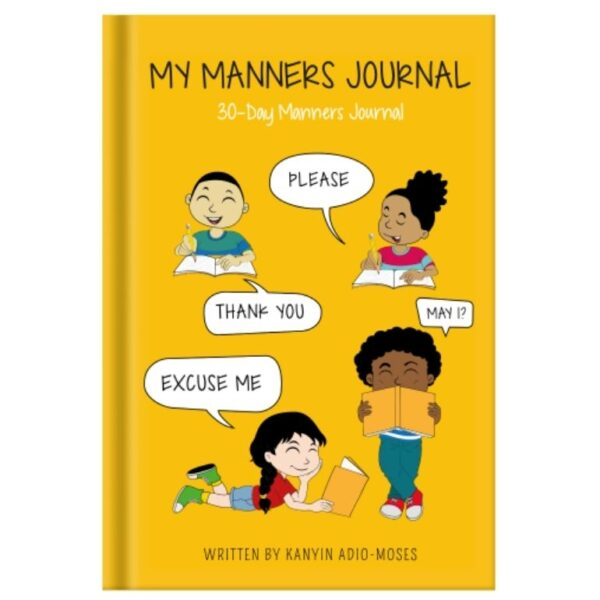 My manners Journal book