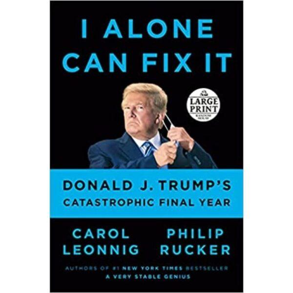 i alone can fix it book