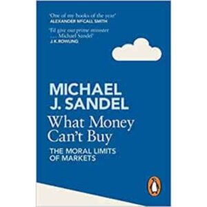 what money can't buy book by Michael J. Sandel