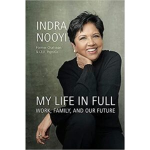 my life in full book by Indra Nooyi