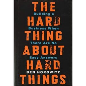 hard things about hard thingsbook